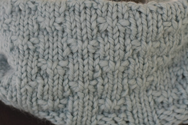 Winter Butterfly Cowl